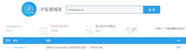 本站IP地址