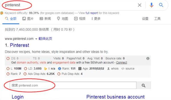 站点链接搜索框功能
